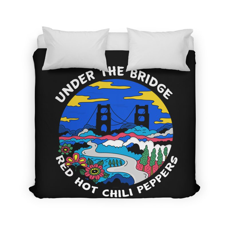 Under The Bridge Home Duvet by darruda's Artist Shop