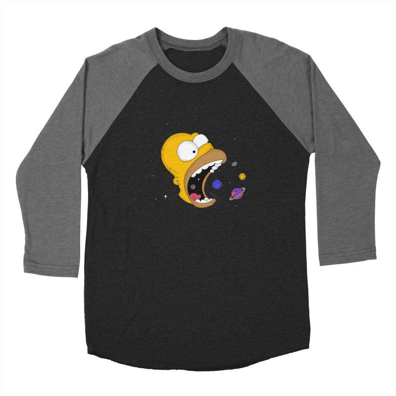 The Crusher Women's Baseball Triblend Longsleeve T-Shirt by darruda's Artist Shop
