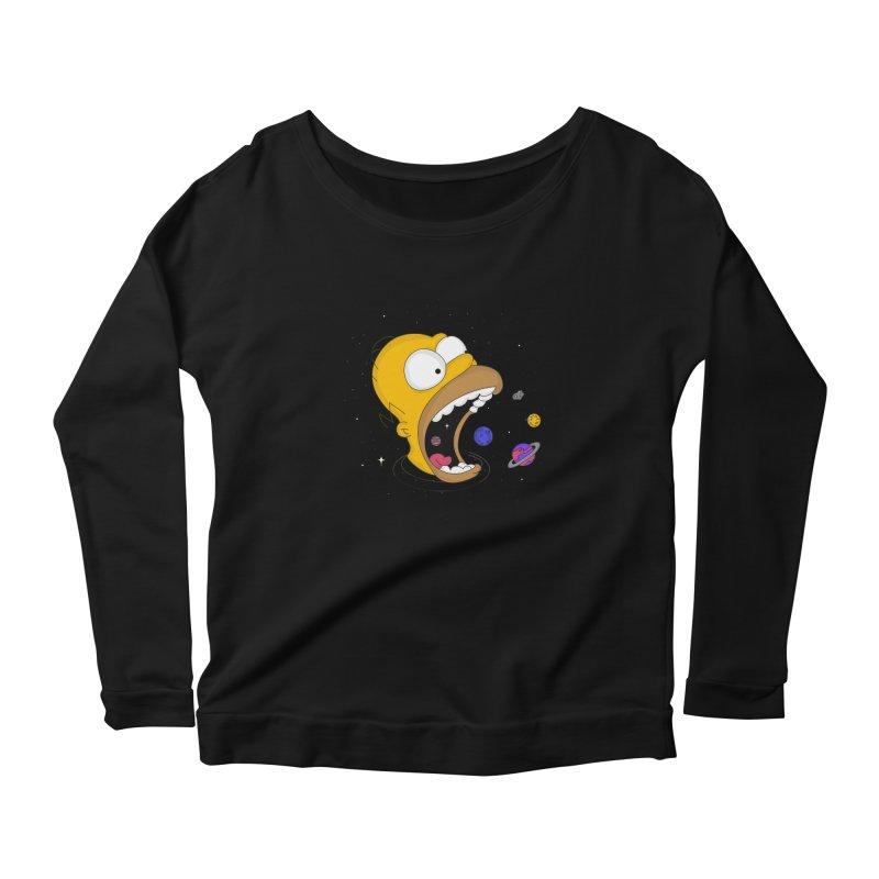 The Crusher Women's Scoop Neck Longsleeve T-Shirt by darruda's Artist Shop