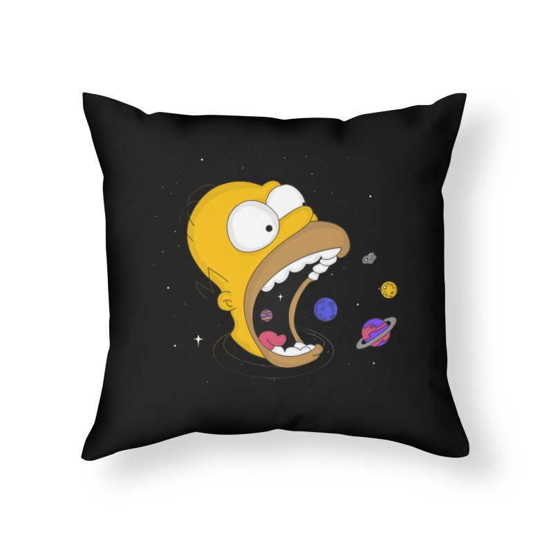 The Crusher Home Throw Pillow by darruda's Artist Shop