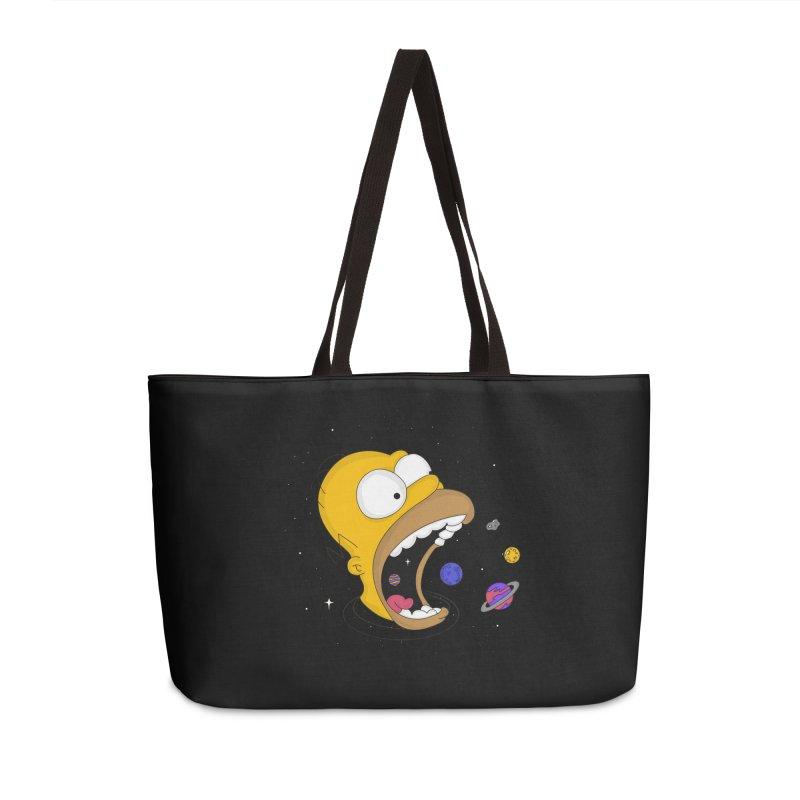 The Crusher Accessories Weekender Bag Bag by darruda's Artist Shop