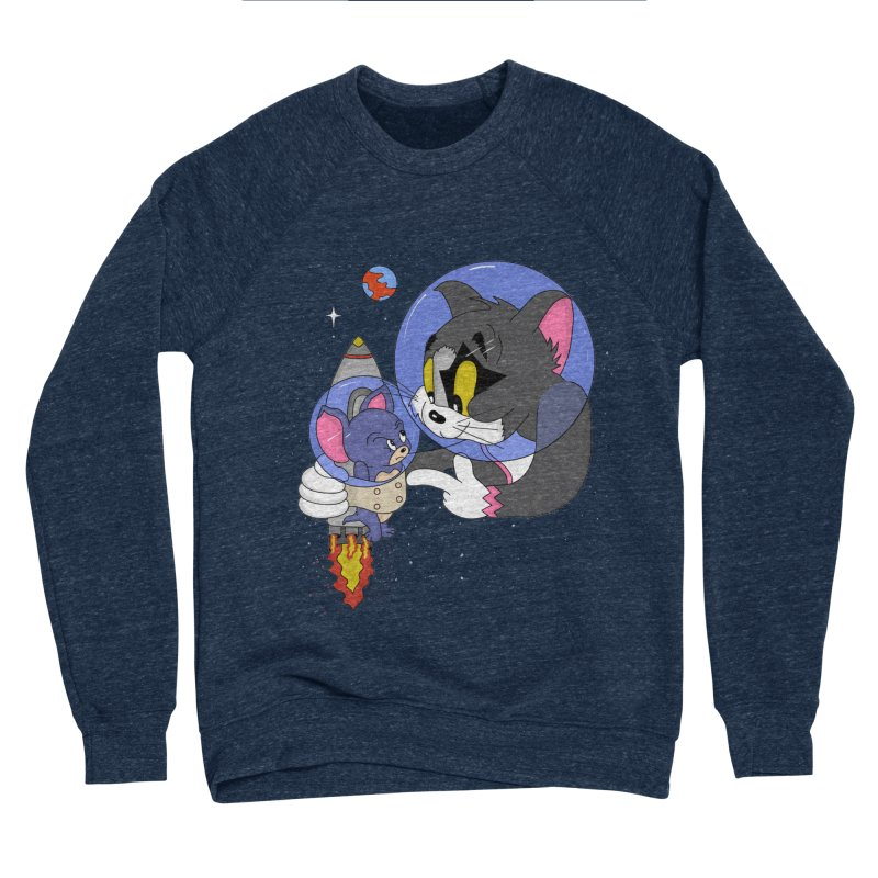 Space Rocket Women's Sponge Fleece Sweatshirt by darruda's Artist Shop