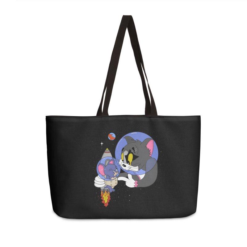 Space Rocket Accessories Weekender Bag Bag by darruda's Artist Shop