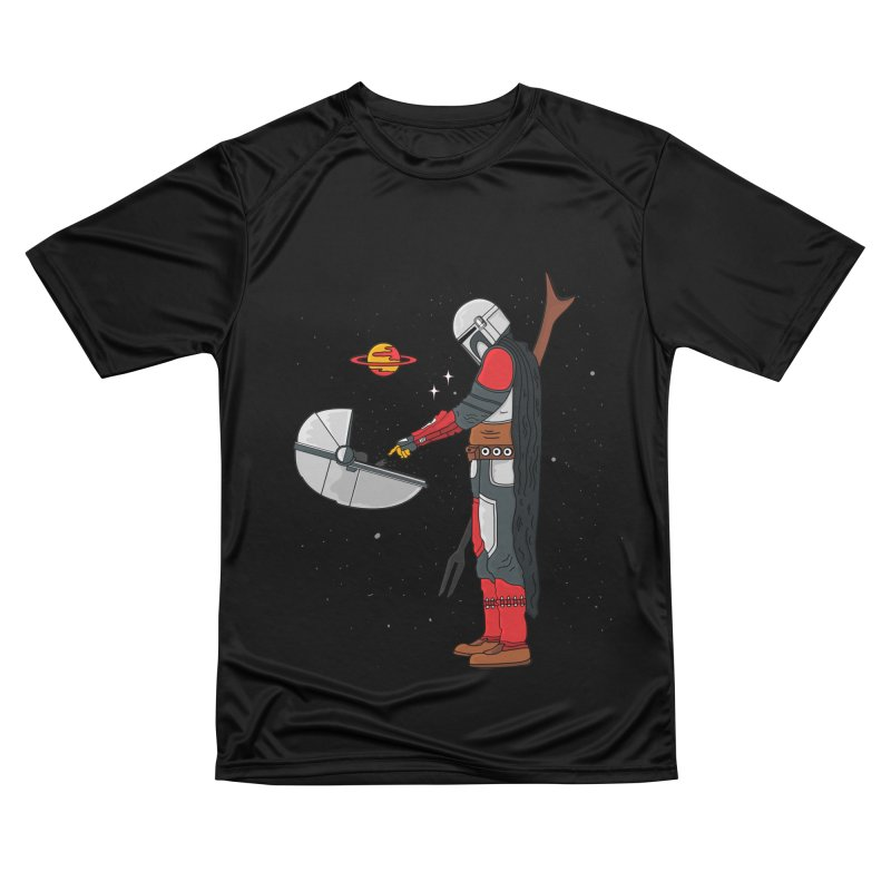 Space Mandalorian Men's T-Shirt by darruda's Artist Shop
