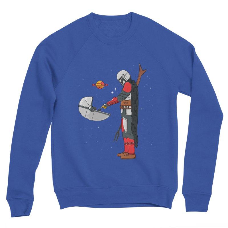Space Mandalorian Women's Sponge Fleece Sweatshirt by darruda's Artist Shop