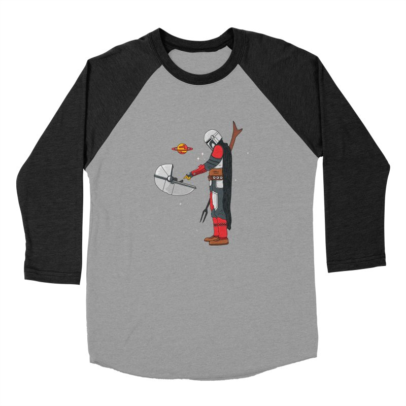 Space Mandalorian Women's Baseball Triblend Longsleeve T-Shirt by darruda's Artist Shop