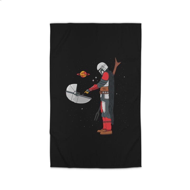 Space Mandalorian Home Rug by darruda's Artist Shop