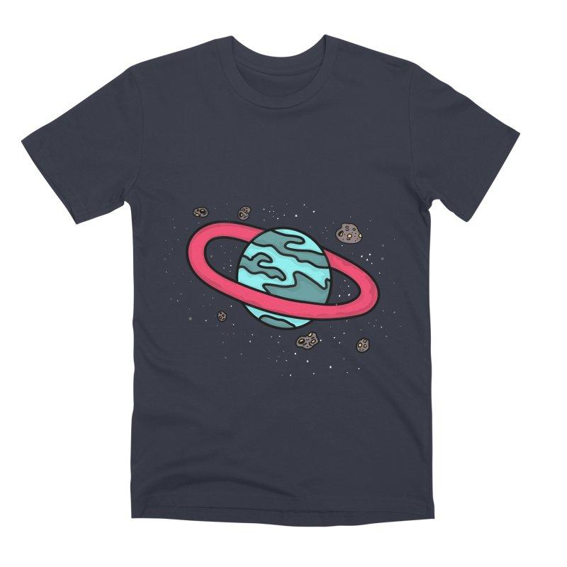 Ring of Fire Men's Premium T-Shirt by darruda's Artist Shop