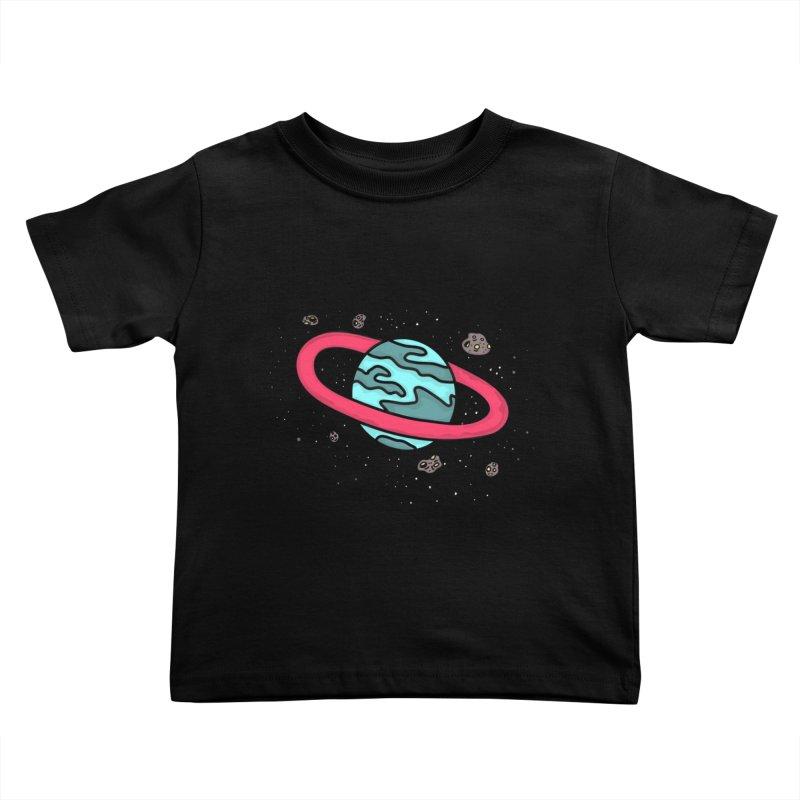 Ring of Fire Kids Toddler T-Shirt by darruda's Artist Shop