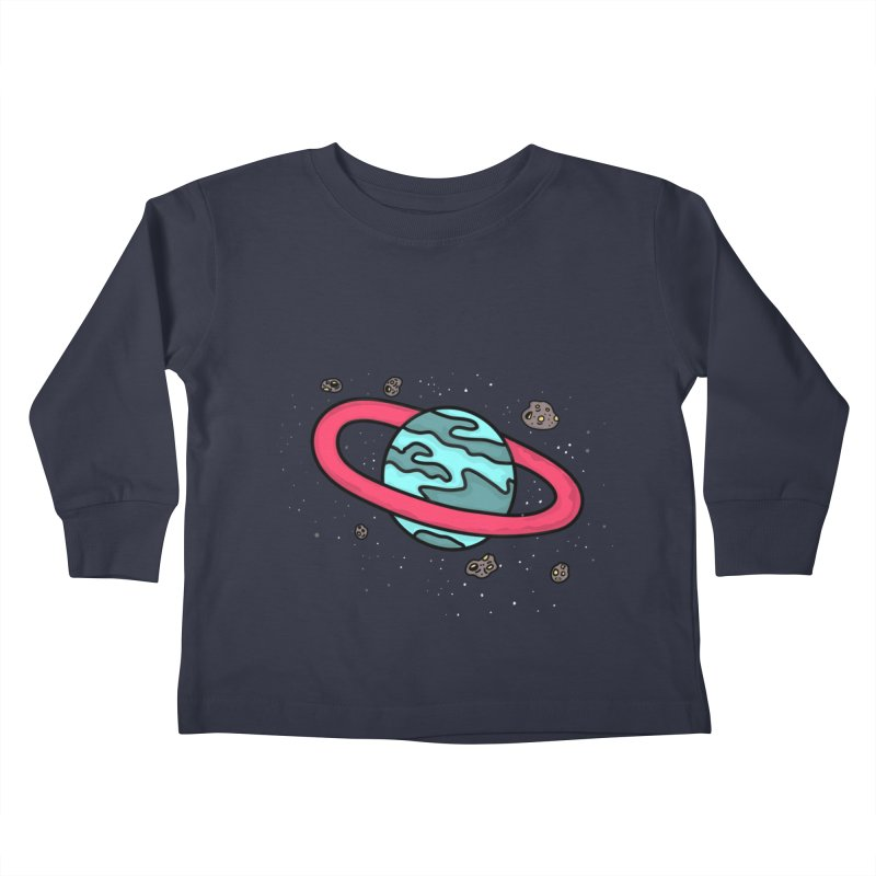 Ring of Fire Kids Toddler Longsleeve T-Shirt by darruda's Artist Shop
