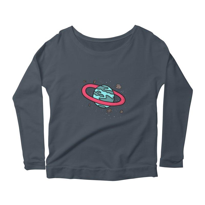 Ring of Fire Women's Scoop Neck Longsleeve T-Shirt by darruda's Artist Shop