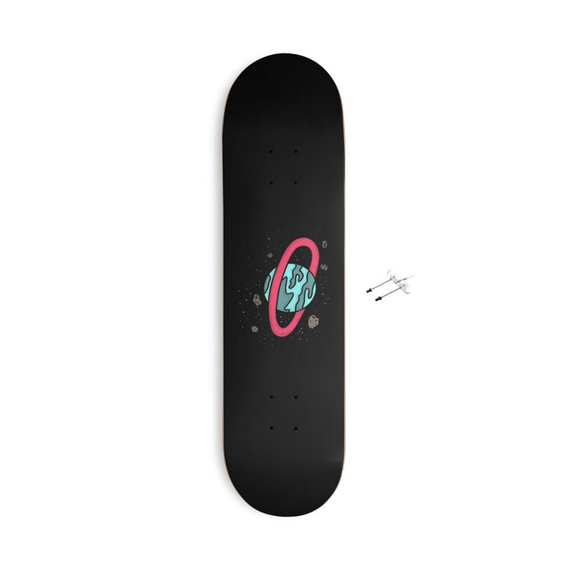 Ring of Fire Accessories With Hanging Hardware Skateboard by darruda's Artist Shop