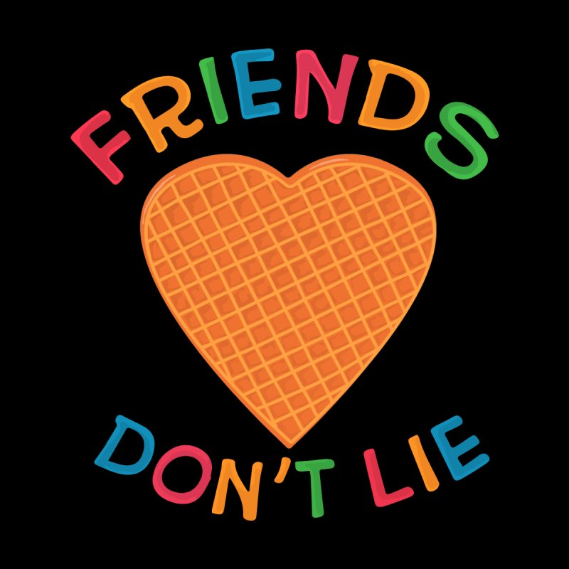 Friends Don't Lie Home Throw Pillow by darruda's Artist Shop