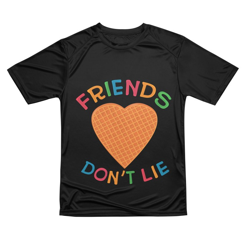 Friends Don't Lie Men's T-Shirt by darruda's Artist Shop