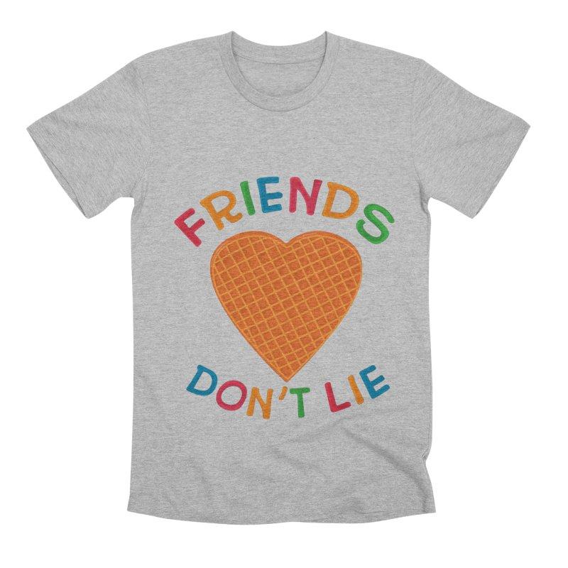 Friends Don't Lie Men's Premium T-Shirt by darruda's Artist Shop