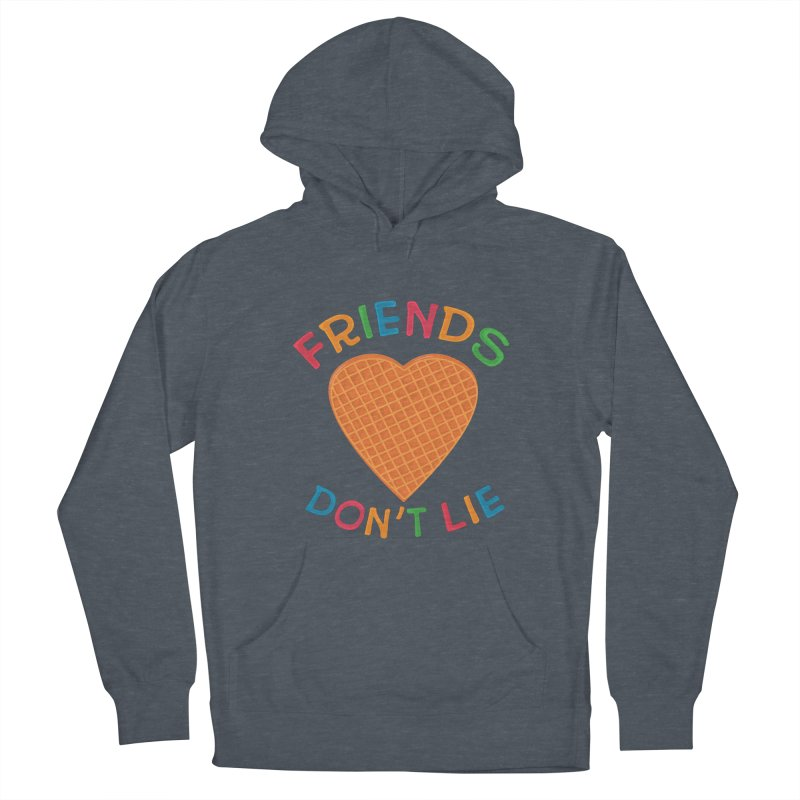 Friends Don't Lie Men's French Terry Pullover Hoody by darruda's Artist Shop