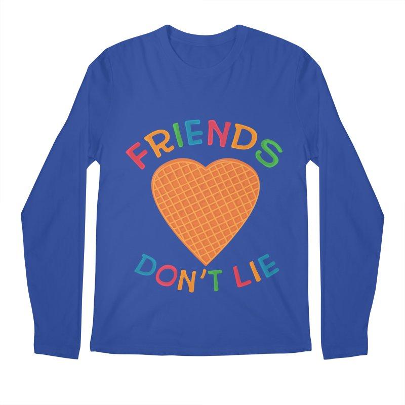Friends Don't Lie Men's Regular Longsleeve T-Shirt by darruda's Artist Shop