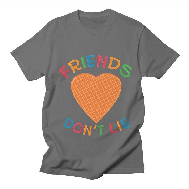 Friends Don't Lie Men's Regular T-Shirt by darruda's Artist Shop