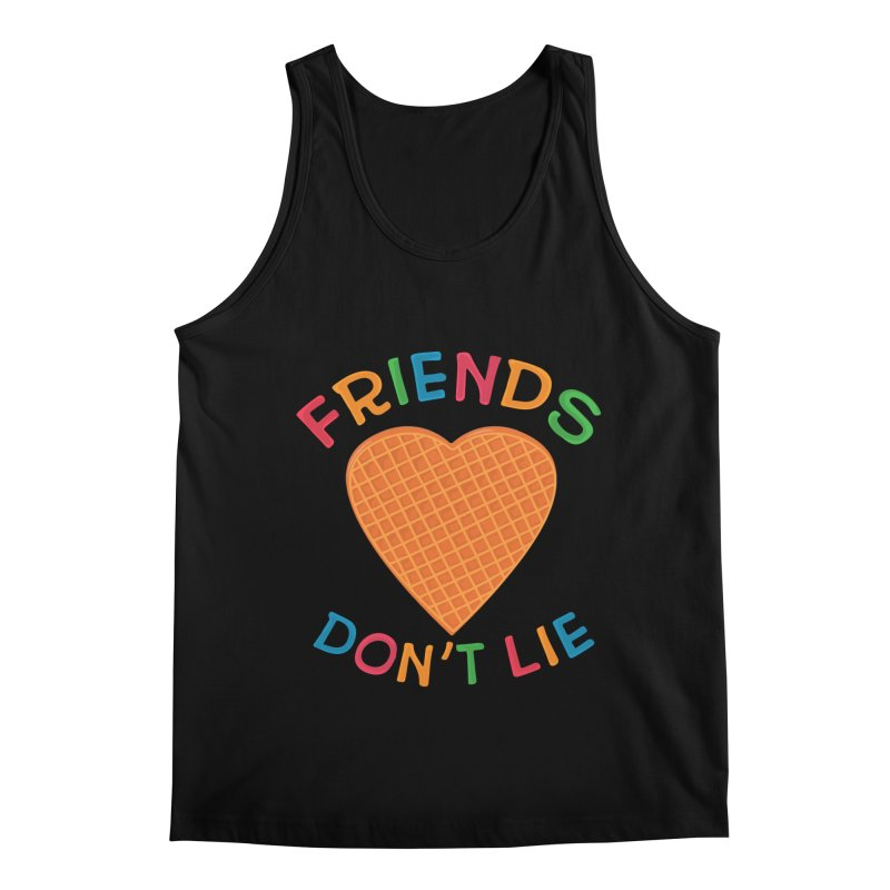 Friends Don't Lie Men's Regular Tank by darruda's Artist Shop
