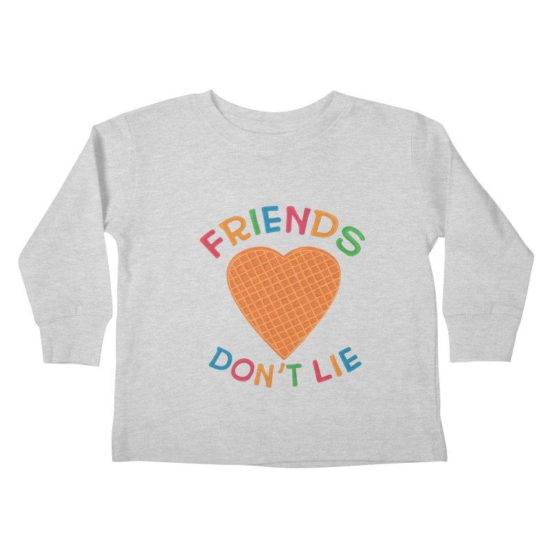 Friends Don't Lie Kids Toddler Longsleeve T-Shirt by darruda's Artist Shop