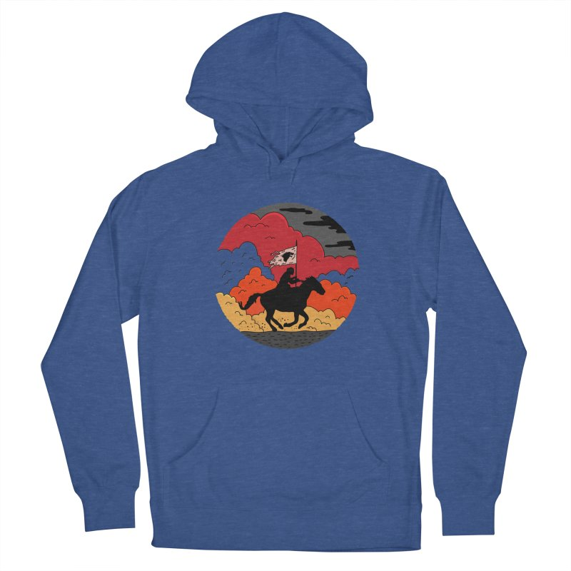 Fight Fire with Fire Men's French Terry Pullover Hoody by darruda's Artist Shop