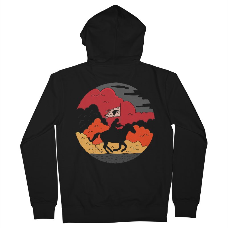 Fight Fire with Fire Women's French Terry Zip-Up Hoody by darruda's Artist Shop