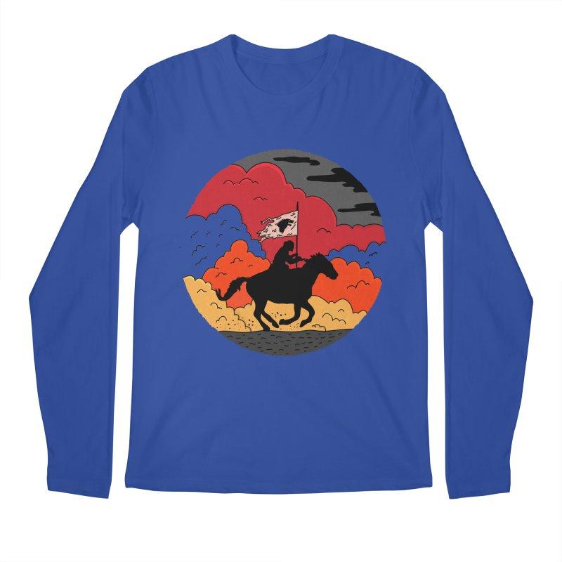 Fight Fire with Fire Men's Regular Longsleeve T-Shirt by darruda's Artist Shop