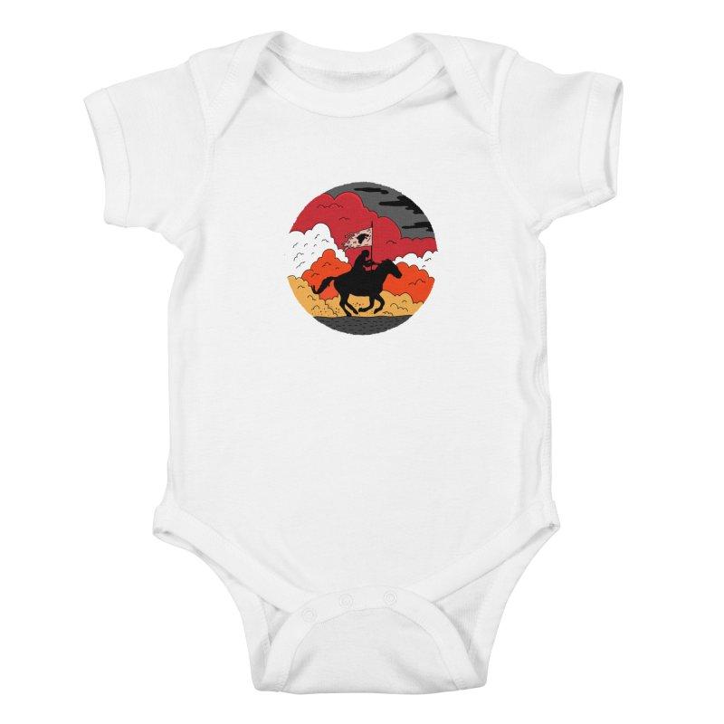 Fight Fire with Fire Kids Baby Bodysuit by darruda's Artist Shop