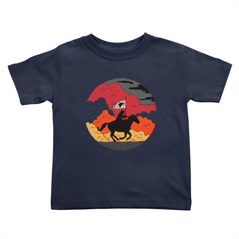 Fight Fire with Fire Kids Toddler T-Shirt by darruda's Artist Shop
