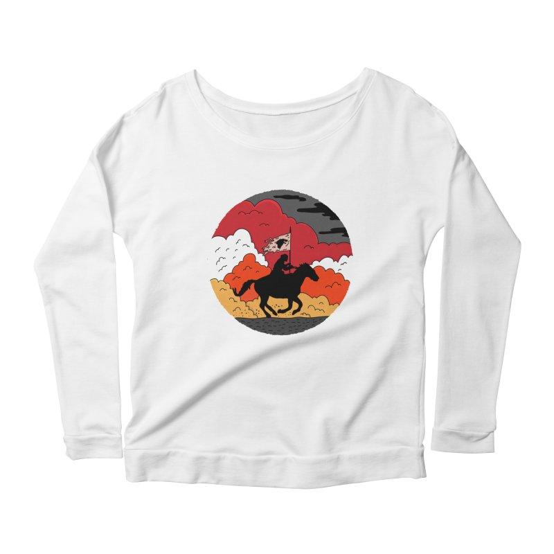 Fight Fire with Fire Women's Scoop Neck Longsleeve T-Shirt by darruda's Artist Shop