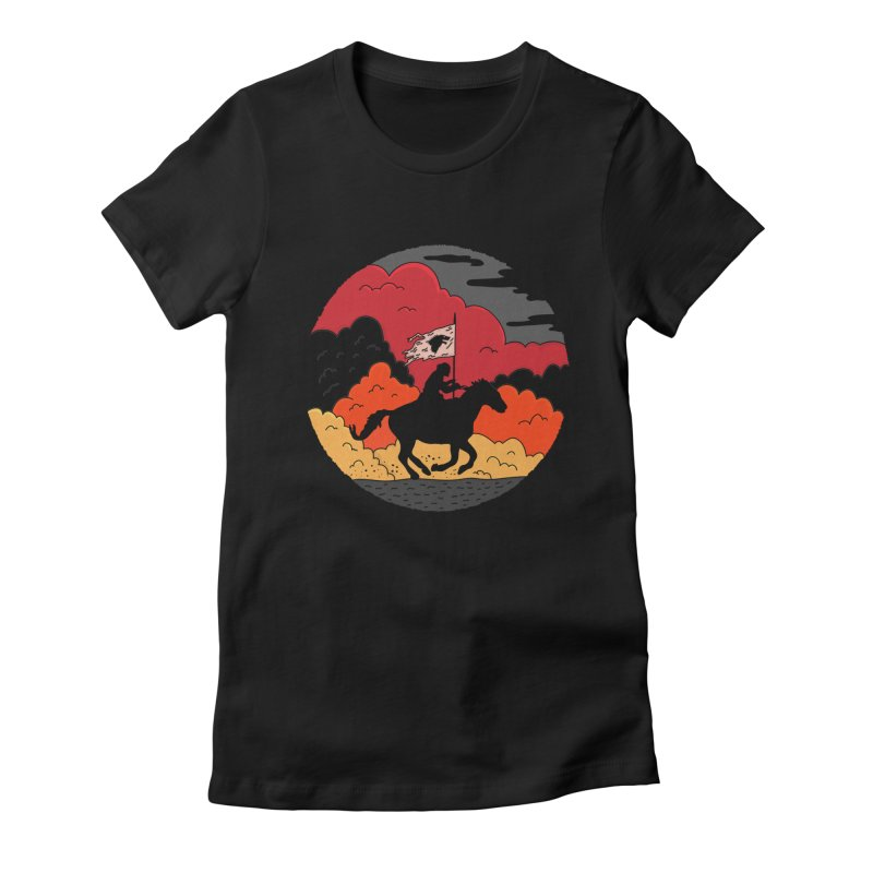 Fight Fire with Fire Women's Fitted T-Shirt by darruda's Artist Shop