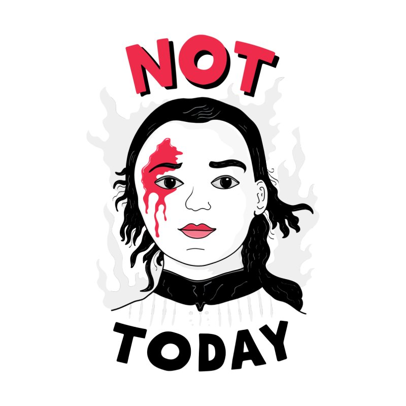 Not Today Kids Toddler T-Shirt by darruda's Artist Shop