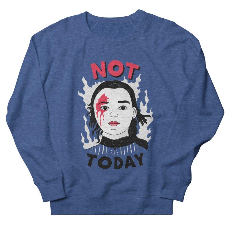 Not Today Men's Sweatshirt by darruda's Artist Shop