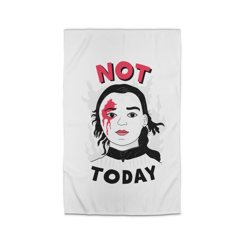 Not Today Home Rug by darruda's Artist Shop