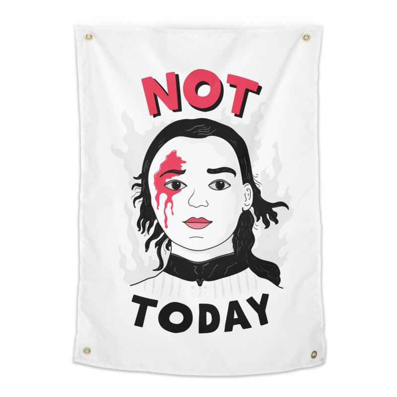 Not Today Home Tapestry by darruda's Artist Shop