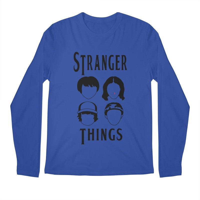 The Four Kids from Hawkins Men's Regular Longsleeve T-Shirt by darruda's Artist Shop