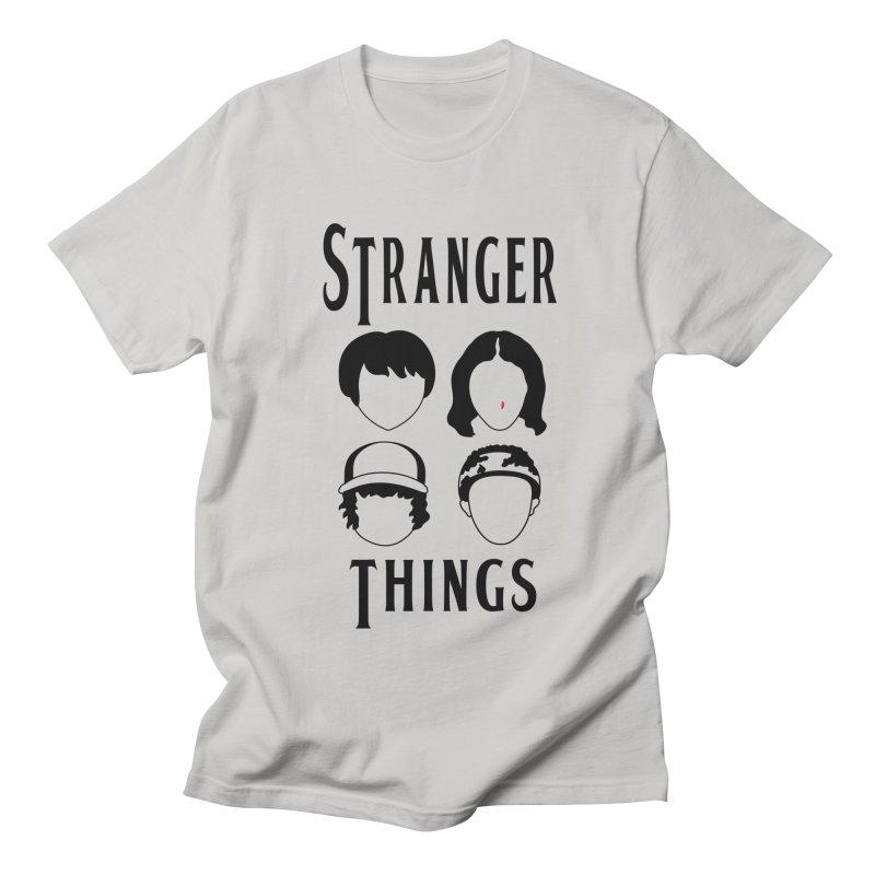 The Four Kids from Hawkins Men's Regular T-Shirt by darruda's Artist Shop