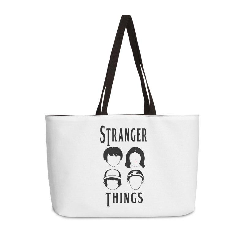 The Four Kids from Hawkins Accessories Weekender Bag Bag by darruda's Artist Shop