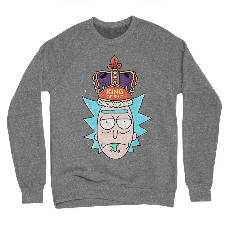 King of Shit Women's Sponge Fleece Sweatshirt by darruda's Artist Shop