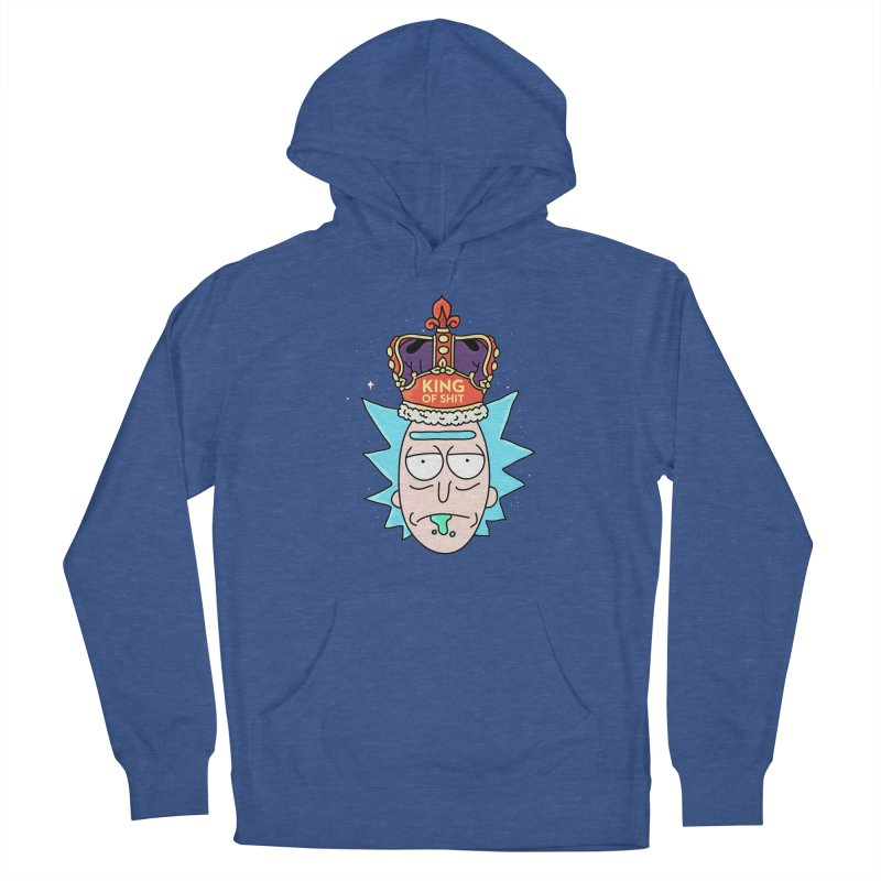 King of Shit Men's French Terry Pullover Hoody by darruda's Artist Shop