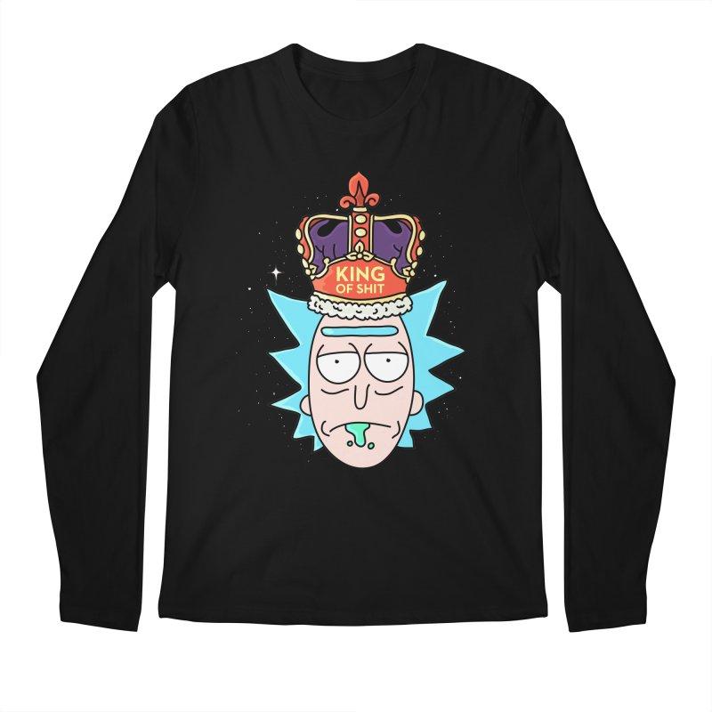 King of Shit Men's Regular Longsleeve T-Shirt by darruda's Artist Shop