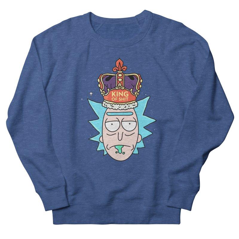 King of Shit Men's Sweatshirt by darruda's Artist Shop