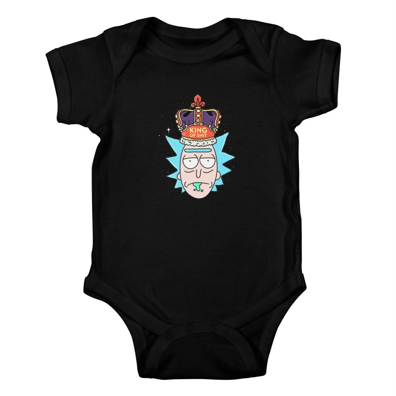 King of Shit Kids Baby Bodysuit by darruda's Artist Shop