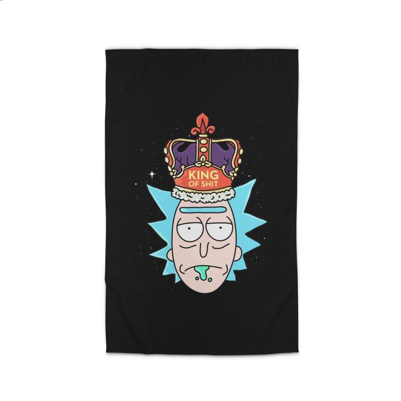 King of Shit Home Rug by darruda's Artist Shop
