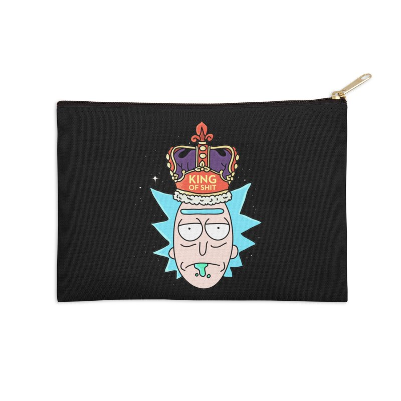 King of Shit Accessories Zip Pouch by darruda's Artist Shop