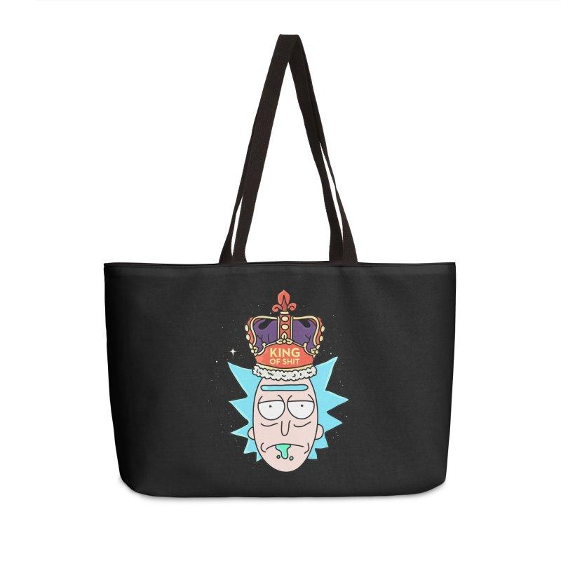 King of Shit Accessories Weekender Bag Bag by darruda's Artist Shop