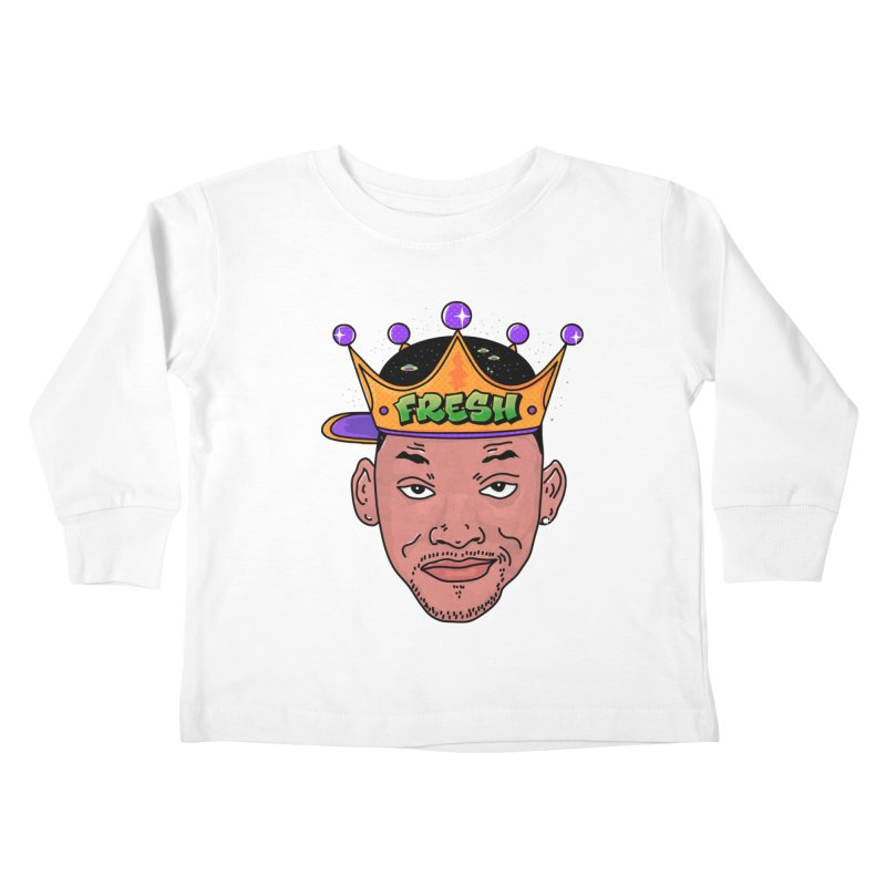 Fresh Prince Kids Toddler Longsleeve T-Shirt by darruda's Artist Shop