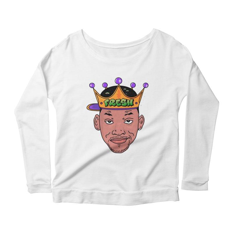 Fresh Prince Women's Scoop Neck Longsleeve T-Shirt by darruda's Artist Shop