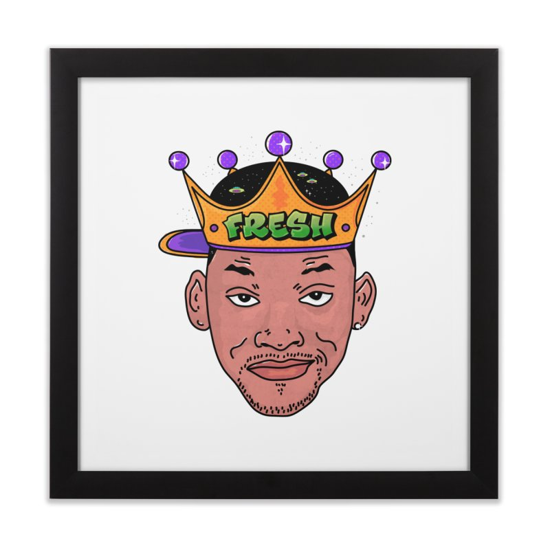 Fresh Prince Home Framed Fine Art Print by darruda's Artist Shop