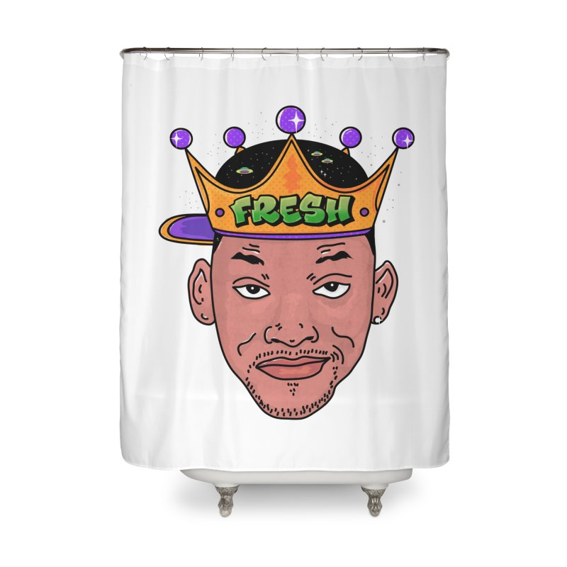Fresh Prince Home Shower Curtain by darruda's Artist Shop
